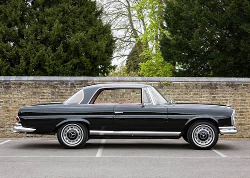 1965 Mercedes Benz 220 Se Coupe Sold By Auction Car And Classic
