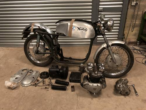 1950's Triton, 650cc Pre-Unit 6T Project SOLD (picture 1 of 6)