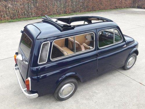 Fiat (autobianchi) 500 Giardiniera 1968 dark blue. SOLD (picture 1 of 6)