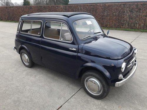 Fiat (autobianchi) 500 Giardiniera 1968 dark blue. SOLD (picture 2 of 6)