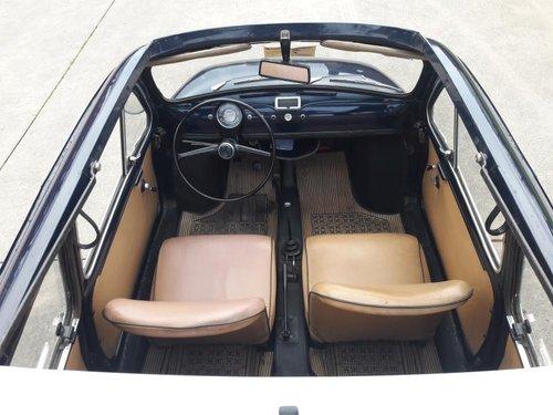 Fiat (autobianchi) 500 Giardiniera 1968 dark blue. SOLD (picture 5 of 6)