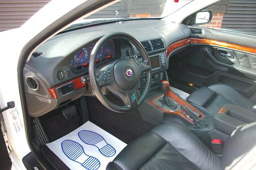 2002 Alpina E39 B10 4.6 V8 Automatic Saloon (67,879 miles) SOLD (picture 4 of 6)