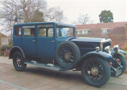 1927 A really lovely high quality fabric bodied saloon.  For Sale (picture 1 of 6)