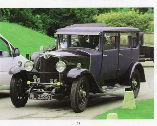 1927 A really lovely high quality fabric bodied saloon.  For Sale (picture 2 of 6)