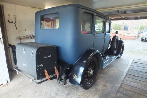 1927 A really lovely high quality fabric bodied saloon.  For Sale (picture 3 of 6)
