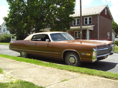 1972 Imperial le baron hardtop coupe For Sale (picture 1 of 6)