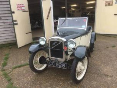 1929 Austin 7 Arrow 2 Seater - REVISED PRICE! SOLD (picture 1 of 6)