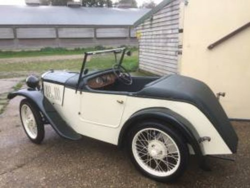 1929 Austin 7 Arrow 2 Seater - REVISED PRICE! SOLD (picture 2 of 6)