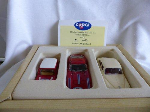 1960 CORGI TOUR DE FRANCE 3 CARS FERRARI, JAGUAR, MINI For Sale (picture 4 of 6)