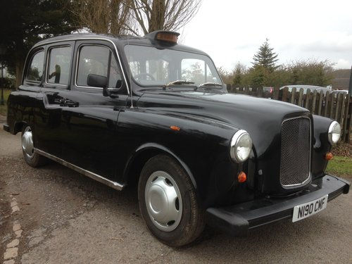 1995 LONDON BLACK CAB TAXI 2.7 NISSAN DIESEL AUTO FULL MOT SOLD (picture 1 of 6)