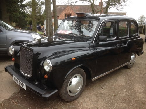 1995 LONDON BLACK CAB TAXI 2.7 NISSAN DIESEL AUTO FULL MOT SOLD (picture 2 of 6)