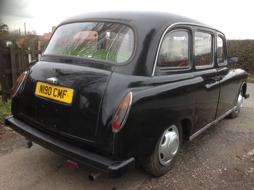 1995 LONDON BLACK CAB TAXI 2.7 NISSAN DIESEL AUTO FULL MOT SOLD (picture 3 of 6)