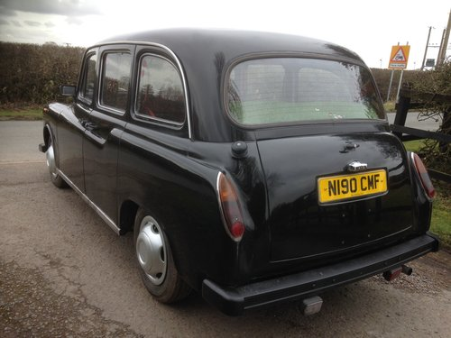1995 LONDON BLACK CAB TAXI 2.7 NISSAN DIESEL AUTO FULL MOT SOLD (picture 4 of 6)