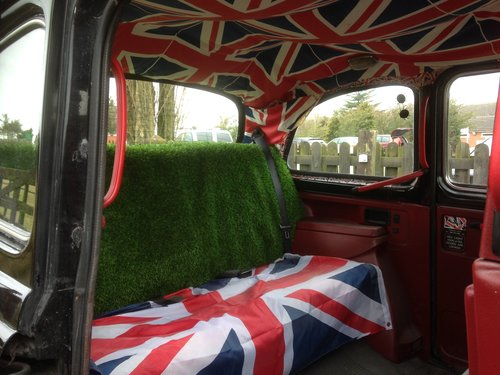 1995 LONDON BLACK CAB TAXI 2.7 NISSAN DIESEL AUTO FULL MOT SOLD (picture 5 of 6)