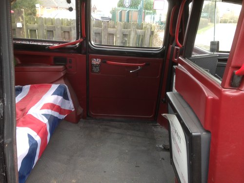 1995 LONDON BLACK CAB TAXI 2.7 NISSAN DIESEL AUTO FULL MOT SOLD (picture 6 of 6)