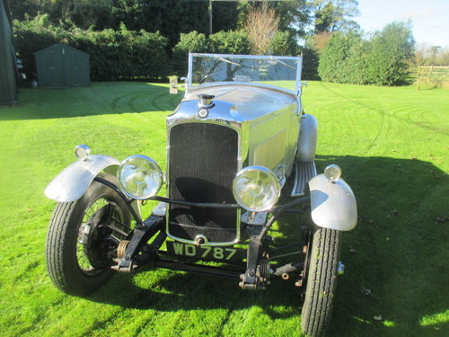 1930 Vauxhall 20/60 3-litre 4-seater sports tourer, alloy body. For Sale (picture 1 of 6)