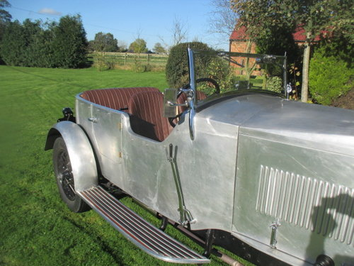 1930 Vauxhall 20/60 3-litre 4-seater sports tourer, alloy body. For Sale (picture 2 of 6)
