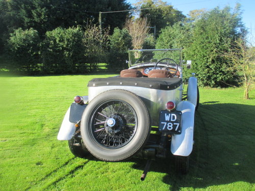 1930 Vauxhall 20/60 3-litre 4-seater sports tourer, alloy body. For Sale (picture 3 of 6)