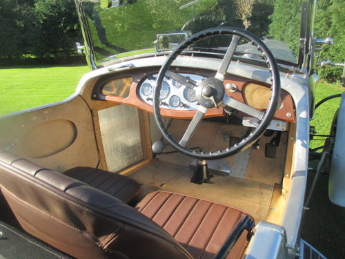 1930 Vauxhall 20/60 3-litre 4-seater sports tourer, alloy body. For Sale (picture 4 of 6)