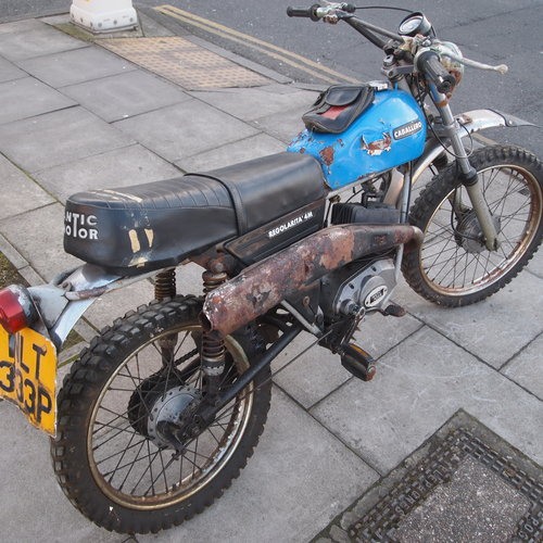 1976 Caballero 100% Genuine UK Pedal Moped, SOLD.. SOLD (picture 3 of 6)