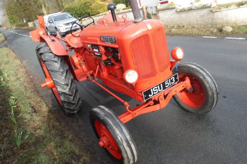 1948 NUFFIELD UNIVERSAL M4 VERY EARLY TRACTOR ROAD REG SEE