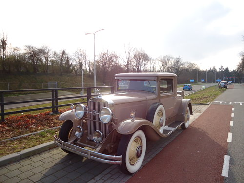 LaSalle 340 coupe 1930 very nice and exclusive classic For Sale (picture 1 of 6)