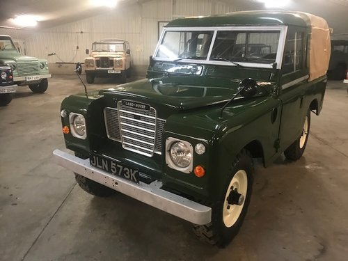 1972 Land Rover® Series 3 Truckcab (JLN) RESERVED SOLD (picture 1 of 6)