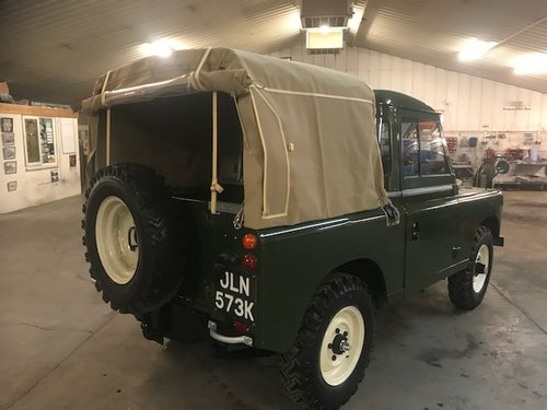 1972 Land Rover® Series 3 Truckcab (JLN) RESERVED SOLD (picture 3 of 6)