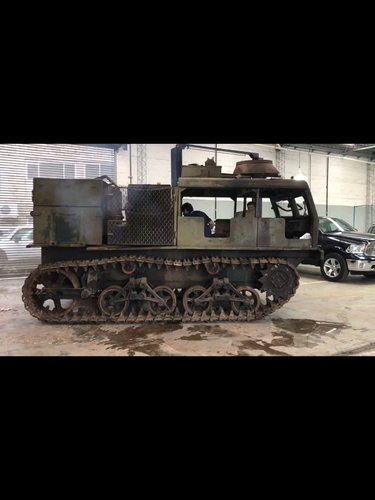 1943 M-4 High Speed Tractor in running order EXCELLENT For Sale (picture 5 of 6)