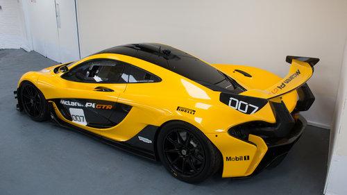 2015 McLaren P1 GTR - VAT Qualifying SOLD (picture 3 of 6)