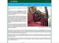 Le Riche  Automobile Restorers (CI) Ltd.