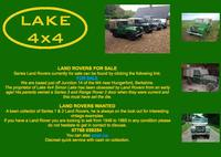 Lake 4x4