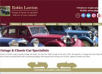 Robin Lawton Vintage & Classic Car Specialist image