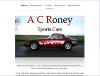 A C Roney Sports Cars