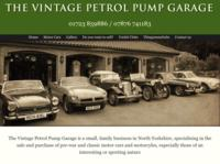 The Vintage Petrol Pump Garage