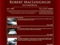 Robert Macloughlin Automobiles