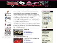 Giordano's Vintage Motors