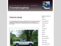 Triumph Stag Shop