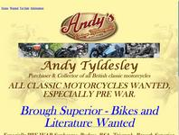 Andrew Tyldesley Motorcycles