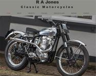 R A Jones Classic motorcycles