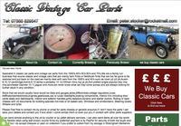 Classic Vintage Car Parts