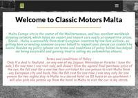 Classic Motors Malta