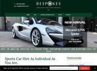 Bespokes Sports Car Hire
