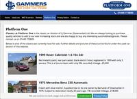 L J Gammer (Stowmarket) Ltd t/a Classics at Platform One