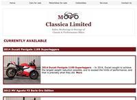 Moto Classica Limited